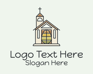 Holy Place - Church Egg logo design