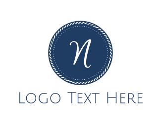 Coin - Blue N Coin logo design