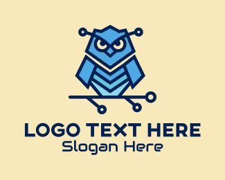 Security - Digital Owl Security logo design