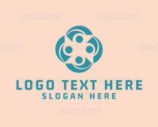 Crowd - Green Community logo design