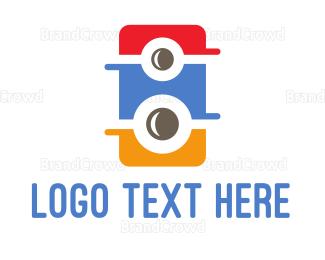 Speaker - Colorful Speaker logo design