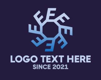 Cycle - Circle Letter E Cycle logo design