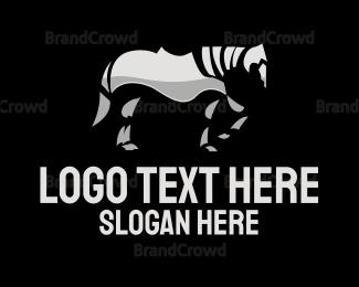 Horse - Iron Horse logo design