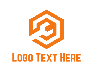 Hardware Store - Orange Wrench logo design