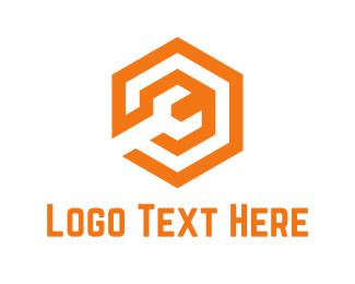 Spanner - Orange Wrench logo design