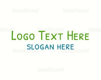 Newborn - Preschooler Handwriting logo design
