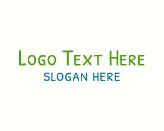 Preschool - Preschooler Handwriting logo design