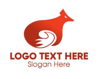 Orange Orange - Orange Fox logo design