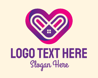 Caregiving - Lovely Home  logo design