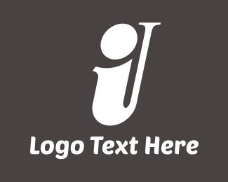 Letter I - Saxophone Letter I logo design