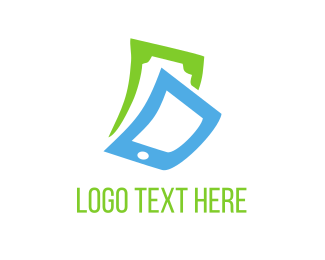 Mobile - Phone & Cash logo design