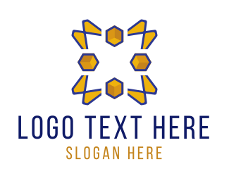 Coder - Yellow Peaks logo design