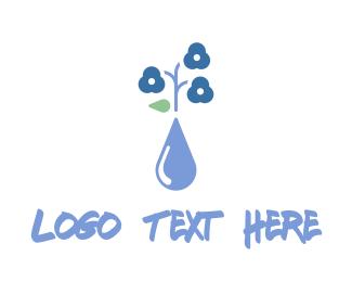 Nectar - Flower Vase logo design