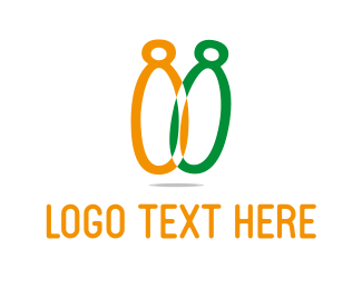 Bowling - Bowling Pins logo design