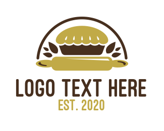Bakery - Nature Pie Bakery logo design
