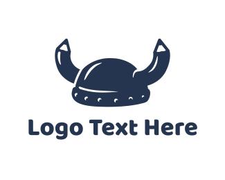 Denmark - School Viking logo design