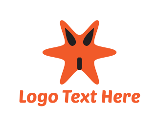 Starfish - Star Monster logo design