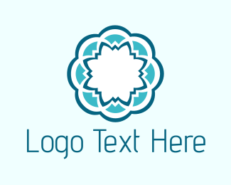 Petal - Blue Flower logo design