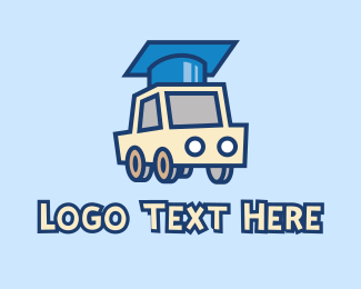 Driving - Driving Graduate logo design
