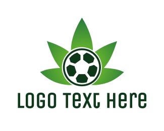 Soccer Cannabis  Logo