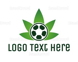 Joint - Soccer Cannabis  logo design