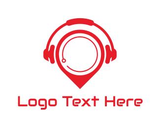Youtube - Headset Spot logo design
