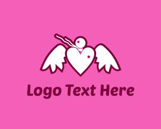 Love Note Bird Logo