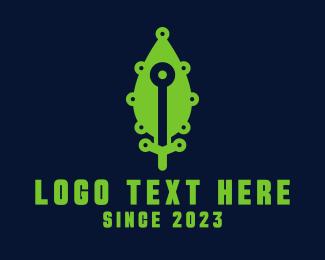Green Leaf Eco Technology Logo