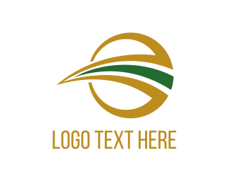 Roadway - Path Circle logo design