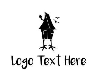Horror - Chicken House logo design