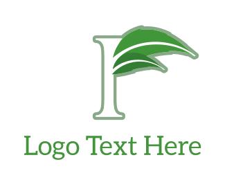 Ejuice - Floral F logo design