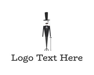 Sir - Elegant Man logo design