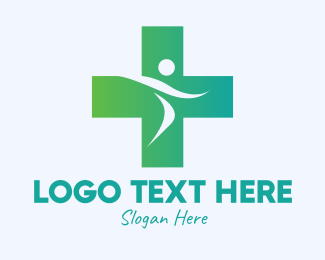Personal Trainer - Medical Active Person logo design