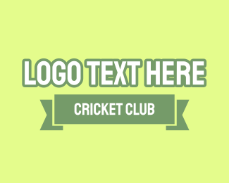Cricket - Cricket Club logo design