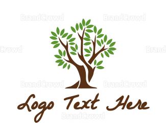 Therapeutic - Simple Tree logo design