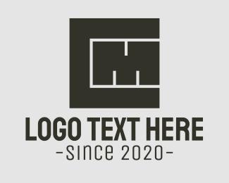 Thick - C & M Monogram Blocks logo design