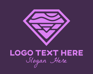 Purple - Generic Purple Diamond logo design