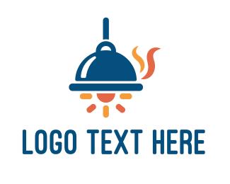Lamp - Tray Lamp logo design