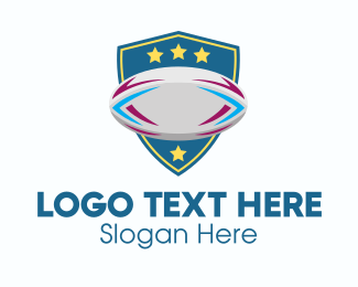 Ice Hockey Tournament - Rugby Team Shield logo design