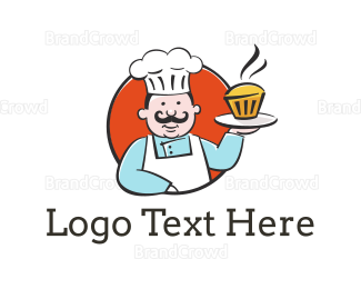 Bread - Cupcake Chef logo design