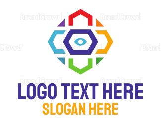 Colorful - Colorful Eye logo design