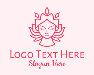 Hair Products - Flower Lady Beauty logo design