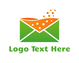 Mail - Juicy Mail  logo design