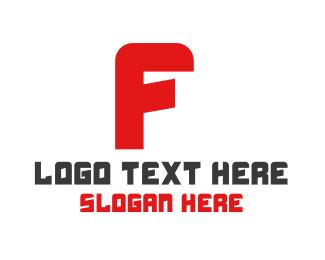 Technician - Automotive Letter F logo design