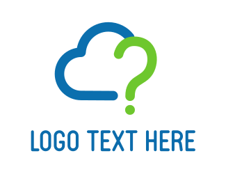 App - Question Cloud logo design
