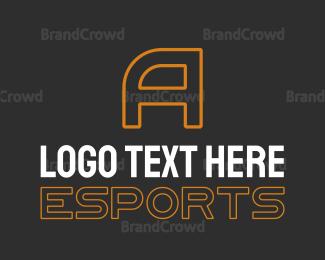 Esports - Esports Letter logo design