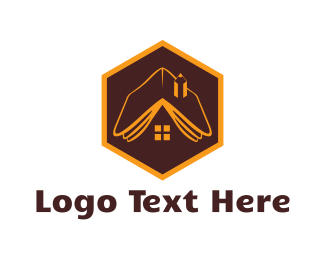 Learn - Book House logo design