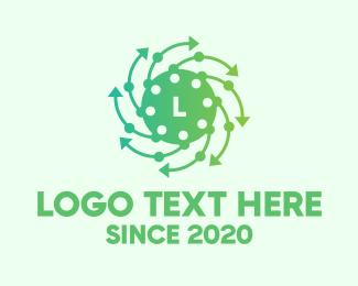 Lettermark - Airborne Virus Lettermark logo design