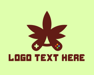 Eliquid - Cannabis Gaming logo design