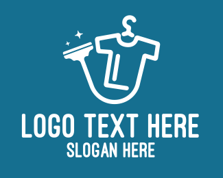 Dry - Dry Cleaning Shop logo design